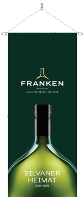 Bannerfahne Franken