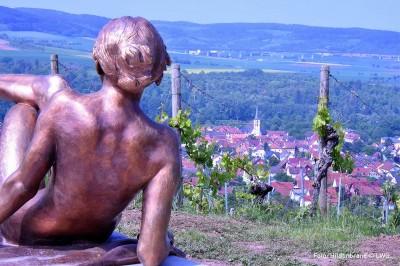 terror f Thüngersheim, schönste Weinsicht Deutschlands