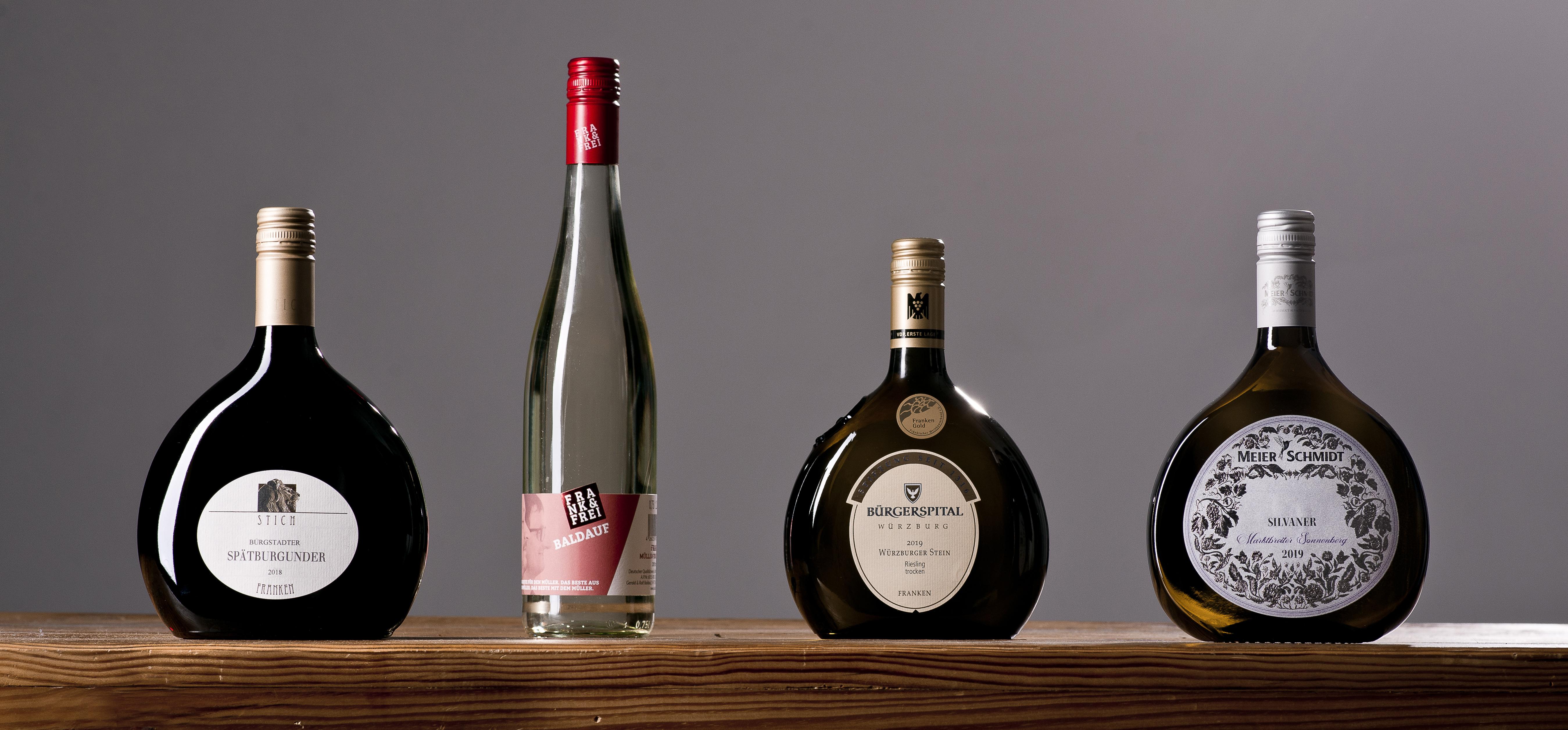 Online Weinprobe Franken die Silvaner Heimat mit vier Weinen entdecken
