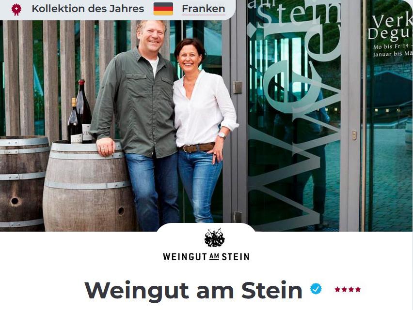 Weingut am Stein wein.plus.Kollektion des Jahres